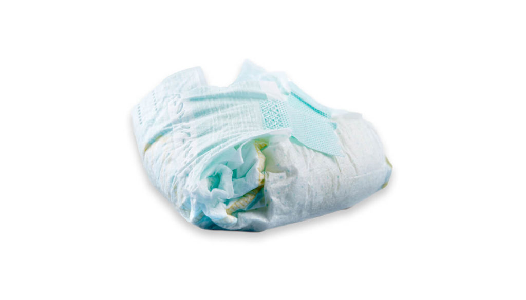 A used nappy