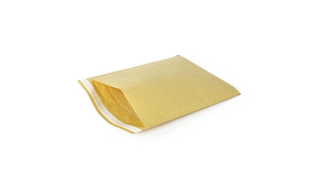 A padded envelope