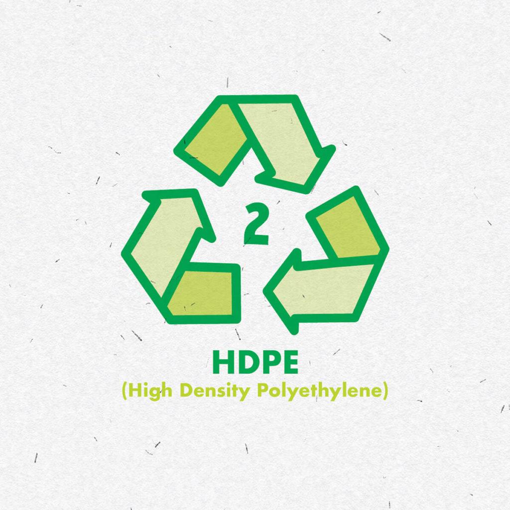 Plastic HDPE icon