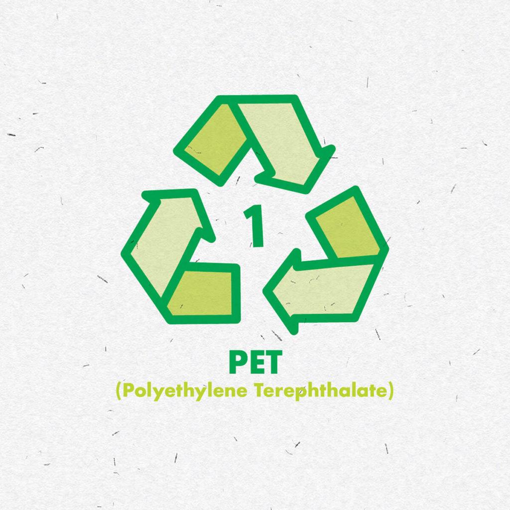 Plastic PET icon