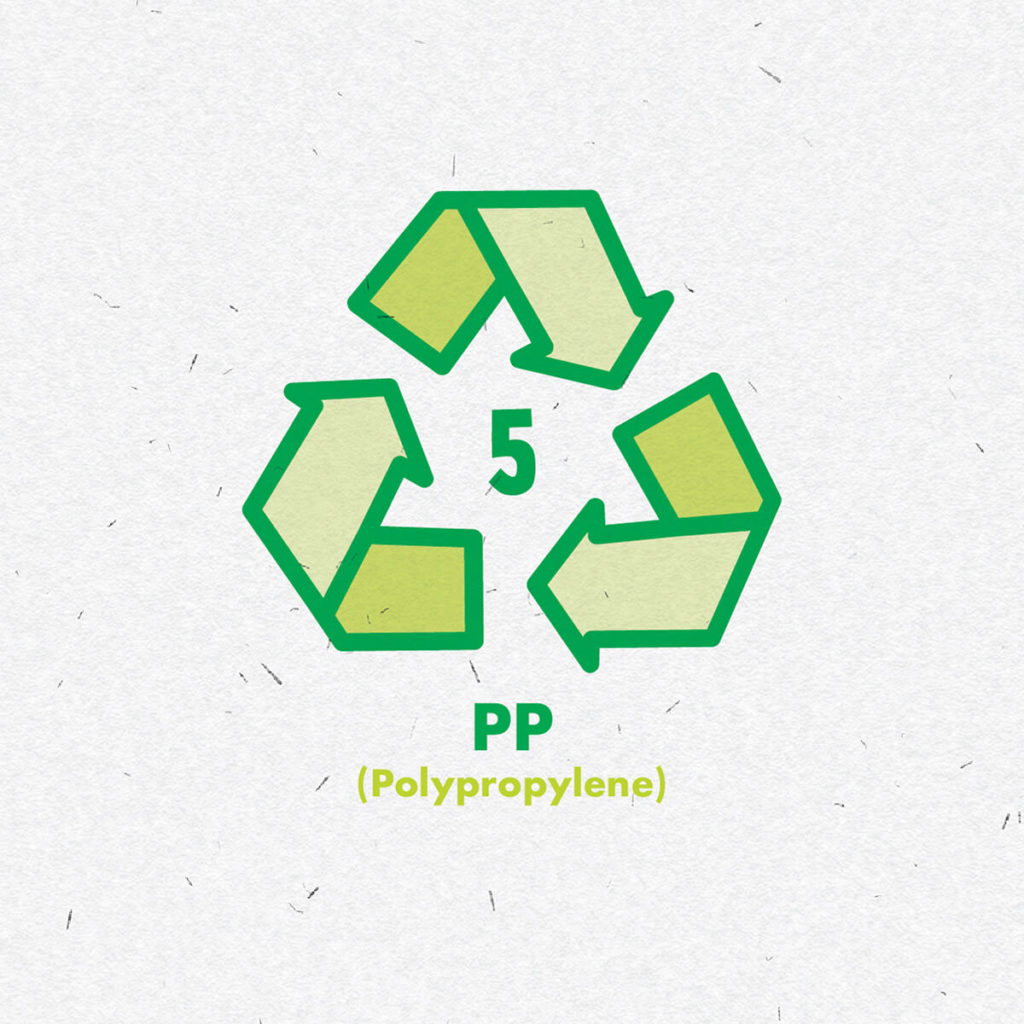 Plastic polypropylene icon