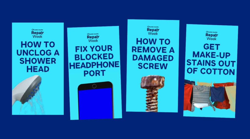 Repair Week Leaflets